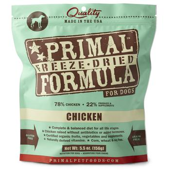 Primal Freeze-Dried Chicken Formula