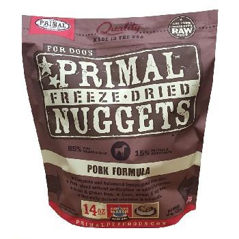 Primal Freeze-Dried Pork Formula