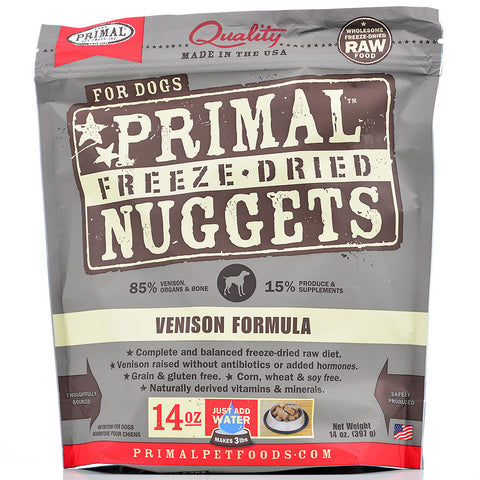 Primal Freeze-Dried Venison Formula