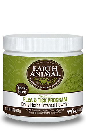 Earth Animal Flea & Tick Daily Herbal Internal Powder
