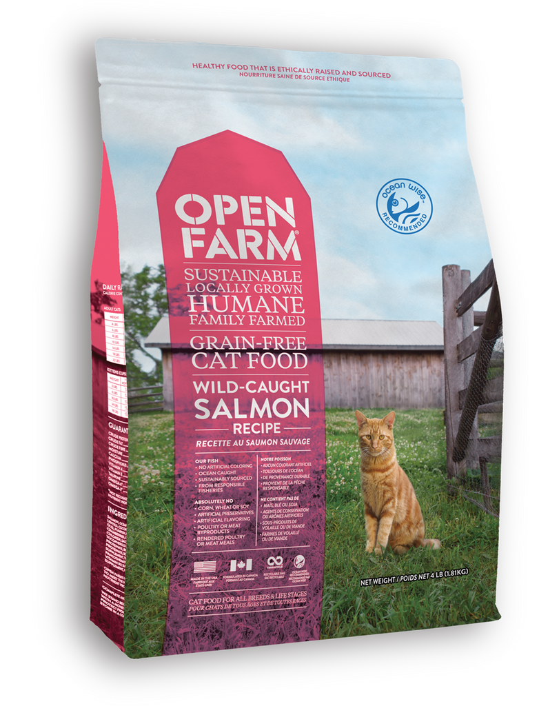 Open Farm Wild Caught Salmon Cat Recipe