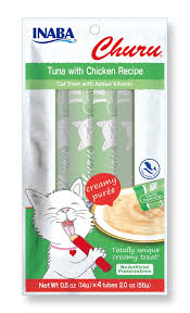 Ciao Churu Puree Tuna with Chicken Treat