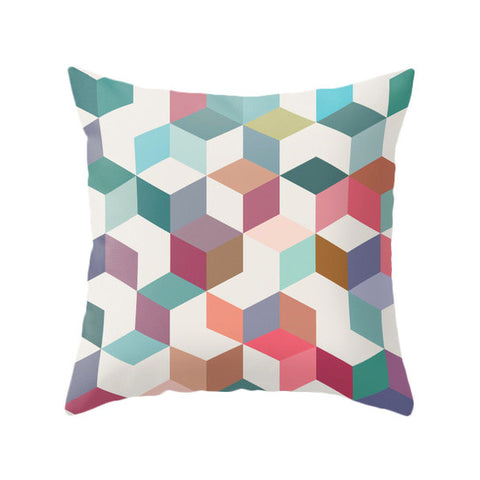 Geometric 1. Geometric pillow - Latte Design  - 1