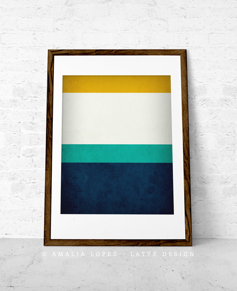 Stripes 2. Set of 3 PRINTS