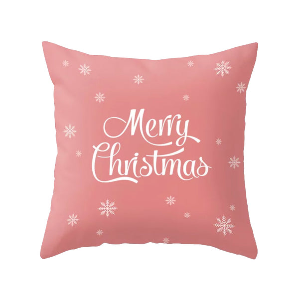HO HO HO. Pink Christmas cushion