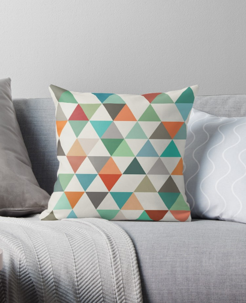 Triangles 4. Geometric cushion