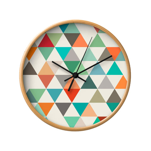 Triangles 4. Geometric wall clock