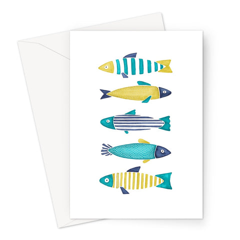 Fish 2 Greeting Card