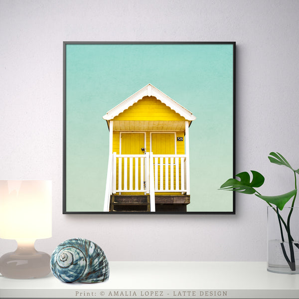 Beach hut 3. Coastal photography - Latte Design  - 3