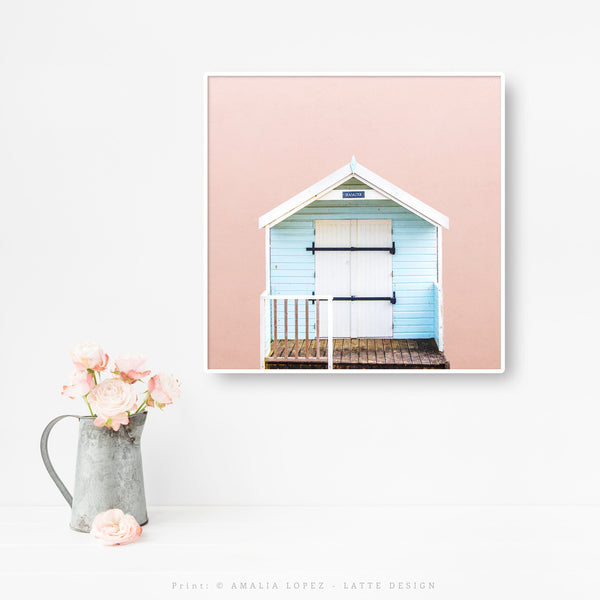 Beach hut 4. Blush Coastal photography