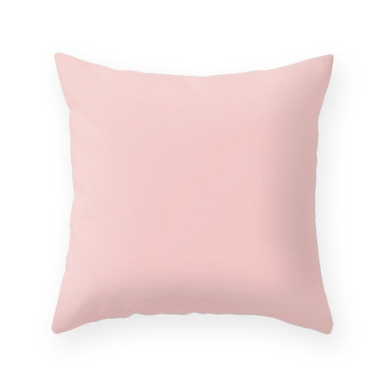 Rose quartz - Pantone color of the year 2016. Geometric cushion - Latte Design  - 2