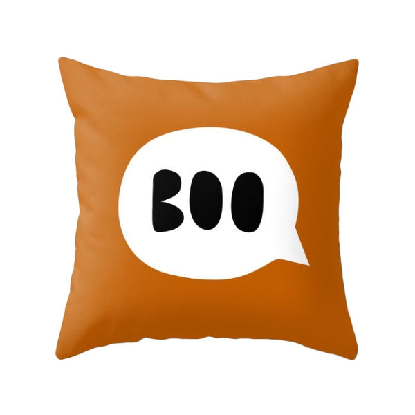 Ghost. Halloween pillow - Latte Design  - 4
