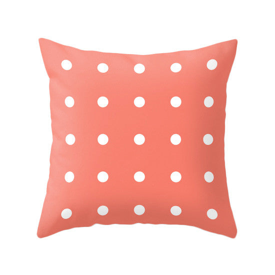 Dots pillow. Black - Latte Design  - 3
