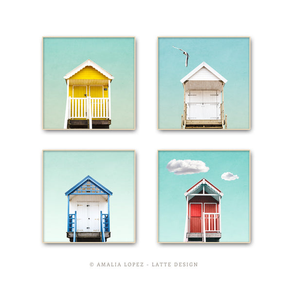 Beach hut 2. Coastal photography - Latte Design  - 4