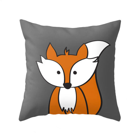 Fox pillow. Nursery pillow - Latte Design  - 1