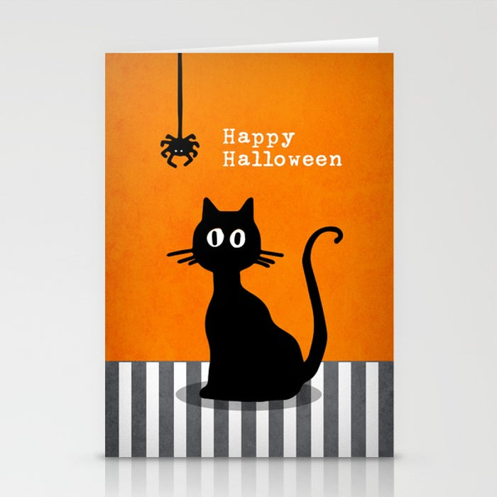 Happy Halloween. Greeting card