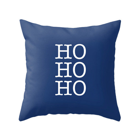 Babu it's cold outside. Blue Christmas pillow - Latte Design  - 5