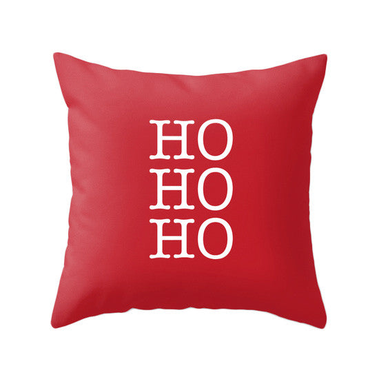 Merry Christmas. Red Christmas pillow Snow flakepillow Red Christmas decor Xmas pillow Christmas decoration Red Christmas cushion Red Xmas pillow red pillow - Latte Design  - 6