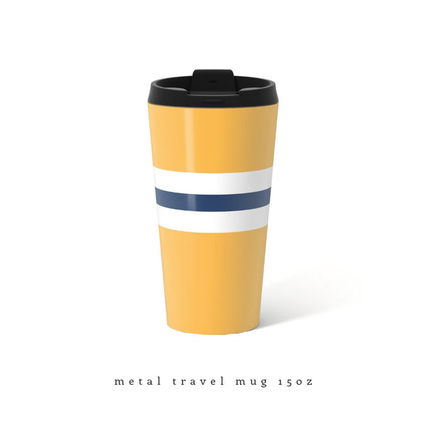 Yellow Travel Mug