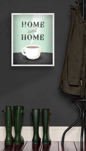 Home sweet home. Coffee print - Latte Design  - 5
