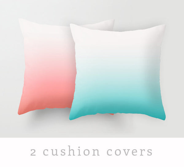 2 gradient pillow covers - Latte Design  - 2