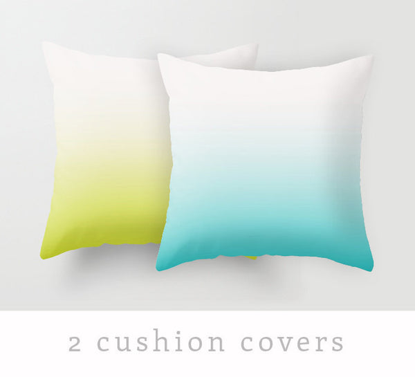 2 gradient pillow covers - Latte Design  - 3