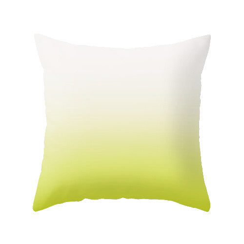 Turquoise ombre pillow - Latte Design  - 3