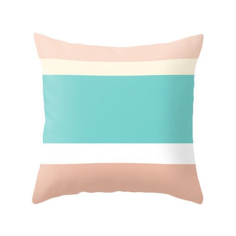 Stripes cushion - Latte Design  - 1