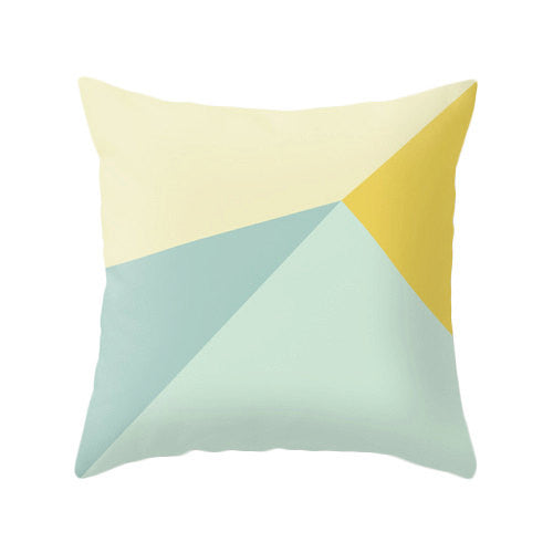 Mint and yellow cushion cover - Latte Design  - 2