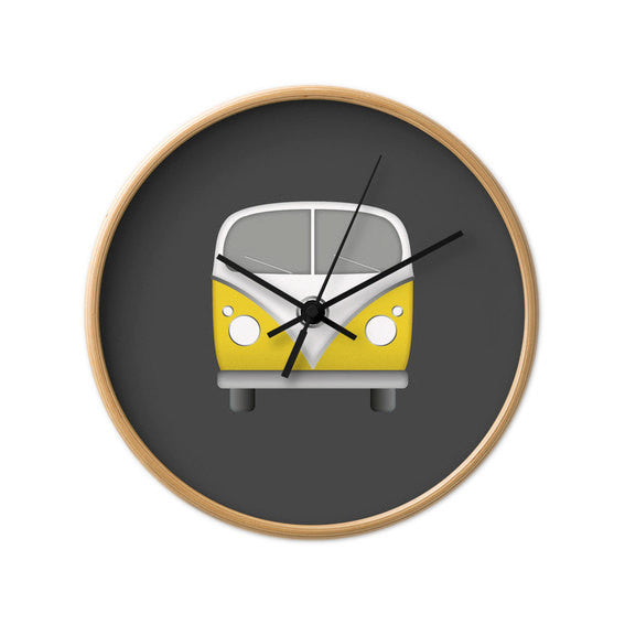 Volkswagen nursery wall clock - Latte Design  - 2