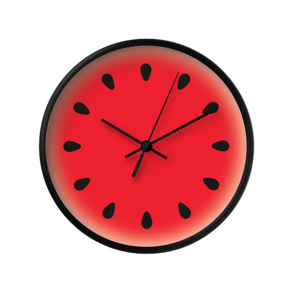 Watermelon clock. Red kitchen clock - Latte Design  - 1