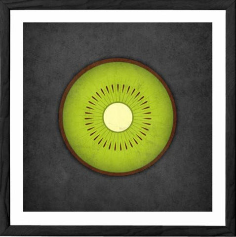 Kiwi print. Green kitchen print - Latte Design  - 1