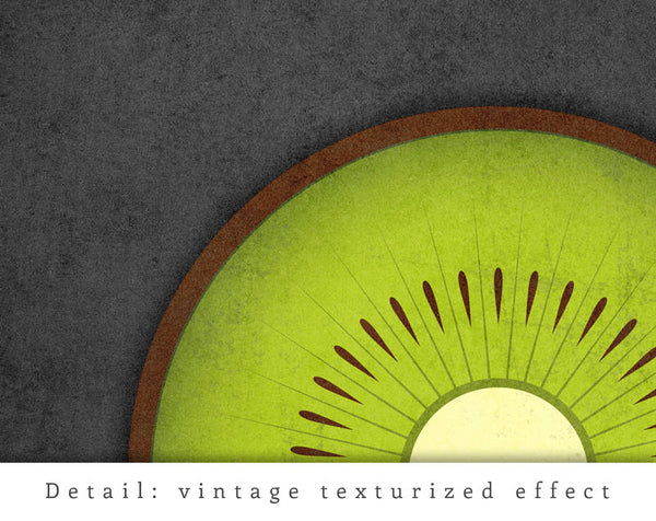 Kiwi print. Green kitchen print - Latte Design  - 5