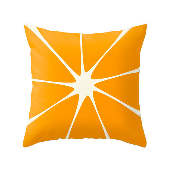 Orange throw pillow cover. Orange pillow Orange cushion Orange decor summer decor summer pillow orange decorative pillow Latte Home - Latte Design  - 1