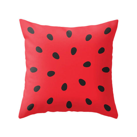 Watermelon pillow. Red pillow - Latte Design  - 1
