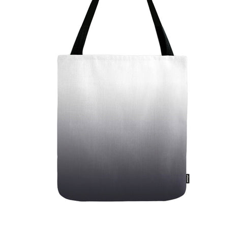 Black ombre tote bag
