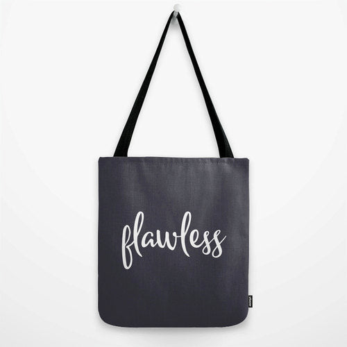 Flawless. Navy blue tote