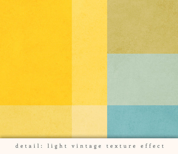 Abstract 3. Yellow geometric print - Latte Design  - 4