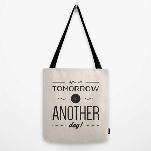 After all tomorrow is another day. Gone with the wind cream tote bag
