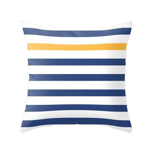 Yellow nautical cushion - Latte Design  - 4