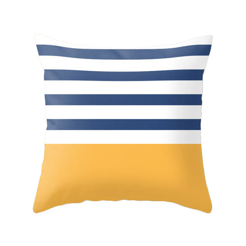 Yellow nautical cushion - Latte Design  - 3