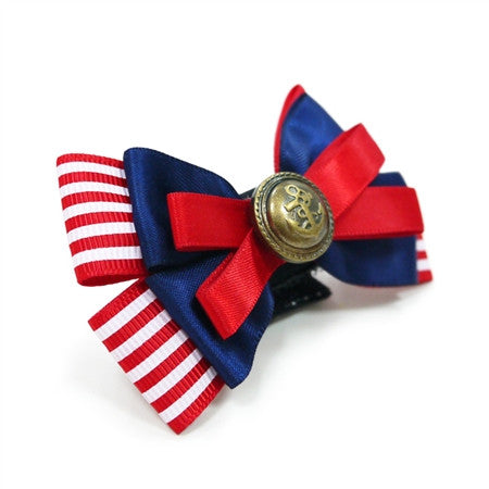 NAUTICAL EASY BOW DOG BOW TIE 4, ACCESSORIES - Bones Bizzness
