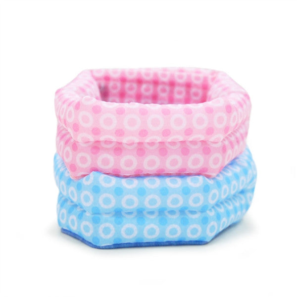 ICOOL DOG SCARF BASIC BLUE DOTS, Shirts Tanks & Tees - Bones Bizzness