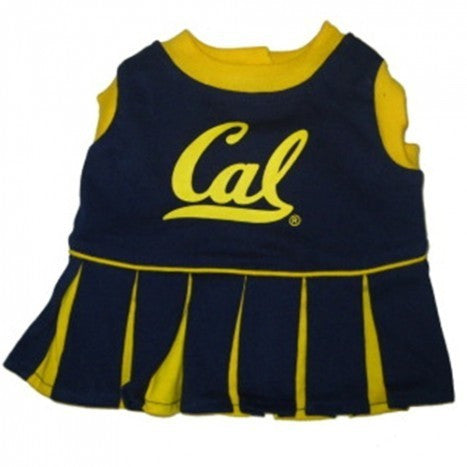 CALIFORNIA BERKELEY CHEERLEADER DOG DRESS, NCAA - Bones Bizzness