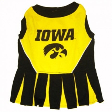 IOWA HAWKEYES CHEERLEADER DOG DRESS, NCAA - Bones Bizzness