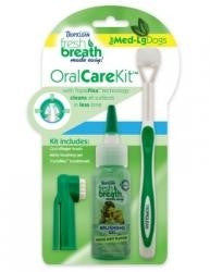 TROPICLEAN DENTAL KIT MD/LG,  - Bones Bizzness