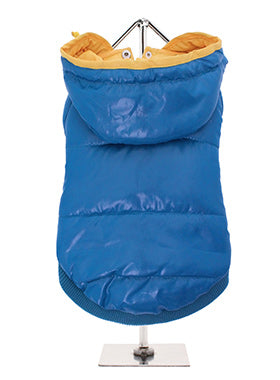 BLUE PATHFINDER INSULATED PANEL DOG COAT, Coats - Bones Bizzness