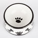 BONES & PAWS HAND PAINTED DOG BOWLS AND TREAT JARS, Bowls - Bones Bizzness