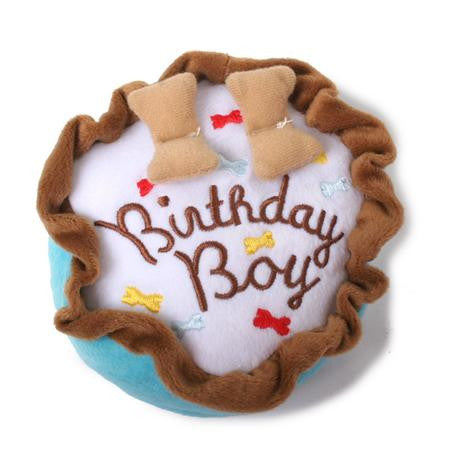 BIRTHDAY CAKE DOG TOY, Toys - Bones Bizzness