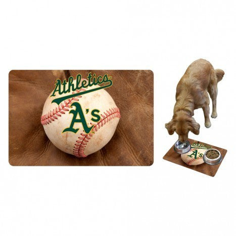 OAKLAND ATHLETICS PET MAT, MLB - Bones Bizzness